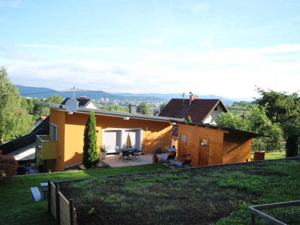 Viktring unverbaubarer Blick auf Klagenfurt