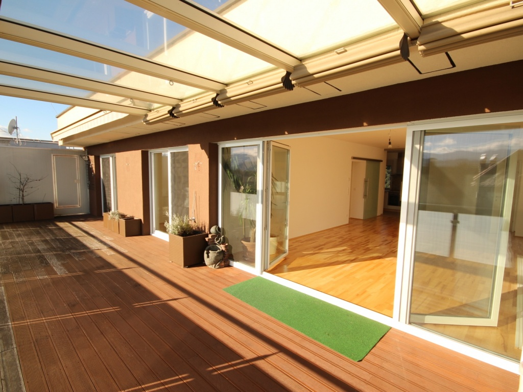 Traumhafte neue 113m² 4 Zi Penthouse - XL Terrasse