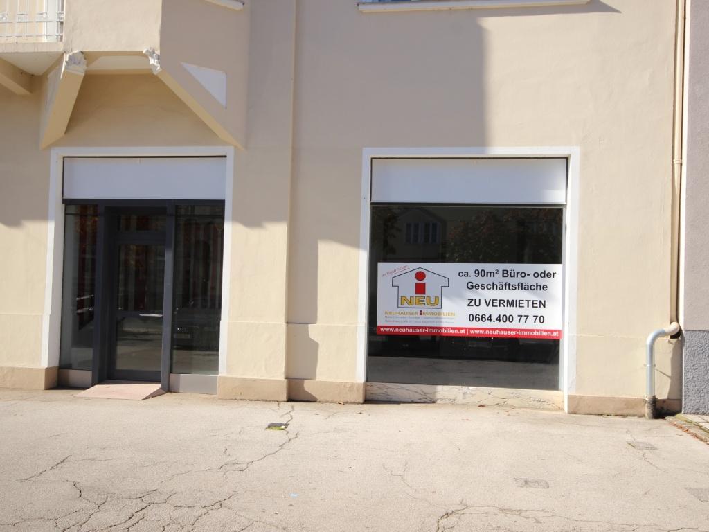 90m² Geschäftslokal/Büro in der Bahnhofstrasse