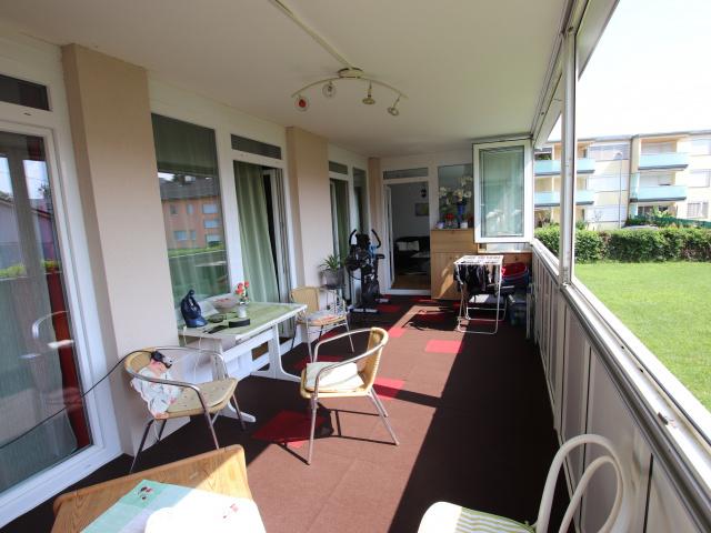 Tolle 4 Zi Wohnung 140m² mit XXL Loggia - Feschnig