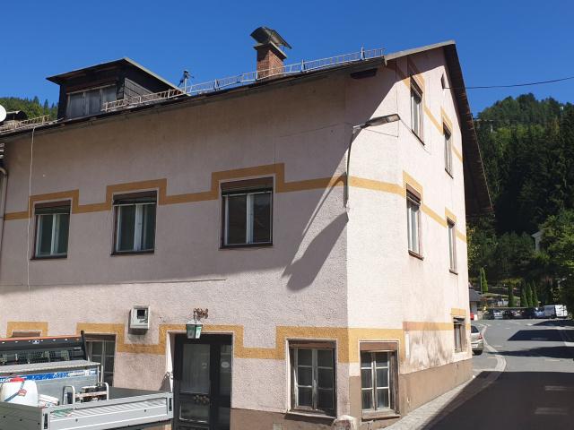 Älters Gasthaus mitten in Eisenkappel