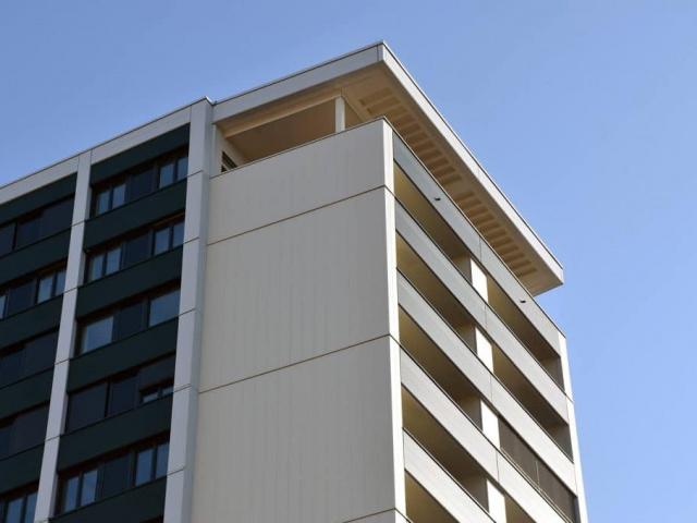 Wohnen im neuen Rothauer Hochhaus