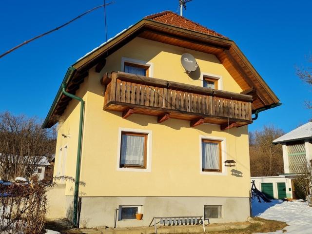 Teilsaniertes Wohnhaus Klagenfurt/Wölfnitz Ponfeld
